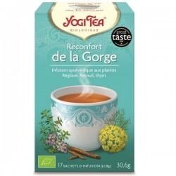 YOGI TEA Réconfort gorge 17 infusettes