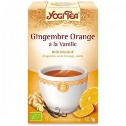 Yogi tea Gingembre Orange vani17 sachets