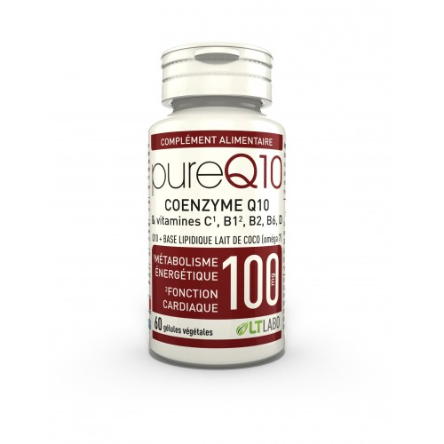 PURE Q10 COENZYME 100 mg - 60 gél.vég.
