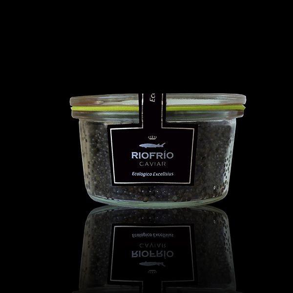 Caviar excellsius 120 gr bio Riofrio