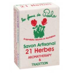 Savon ayurvédic 21 herbes
