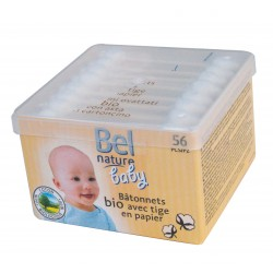 Coton tiges sécurité bébé (x56)