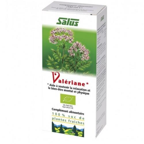 Suc de plantes Valériane bio flac 200 ml