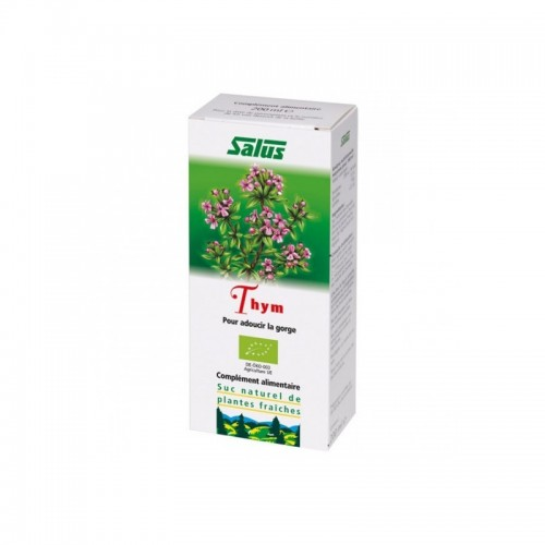Suc de plantes Thym bio 200 ml