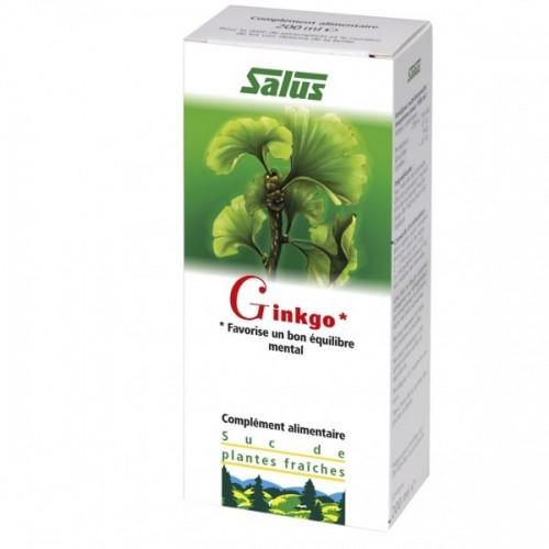 Suc de plantes Ginkgo bio 200 ml