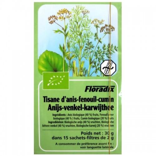 Tisane Bio anis-fenouil-cumin - 15 sache
