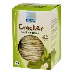 Crackers basilic sans gluten 100 gr