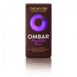 Barre Chocolat cru myrtille açai 35 gr