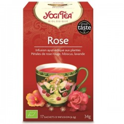 YOGI TEA rose bio 17 sachets