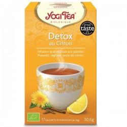 Yogi Tee Detox citron 17 sachets