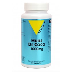 VIT'ALL+ HUILE DE COCO 1000 MG 60 CAPSULES