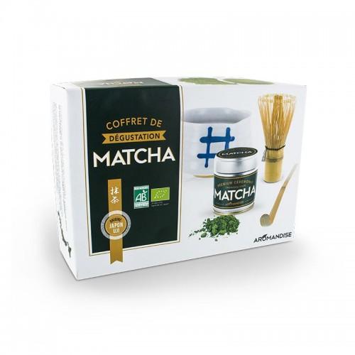 COFFRET DEGUSTATION MATCHA