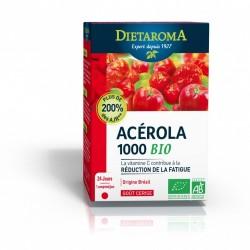 ACEROLA 1000 bio goût cerise 24 cp