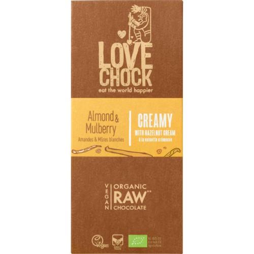 Lovechock Mûre blanche/Vanille 40 gr