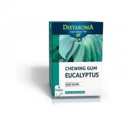 Schewing gum eucalyptus 20 dragées