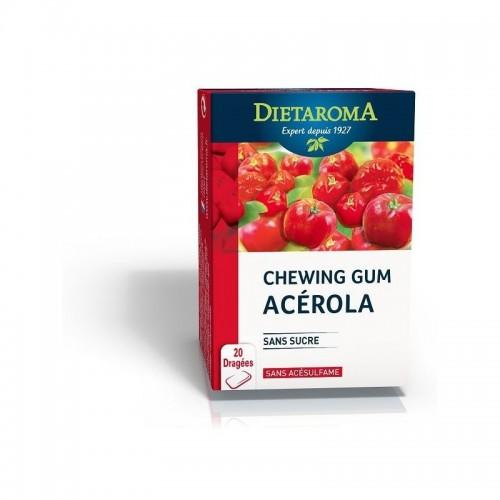 CHEWING-GUM ACEROLA  20 dragées