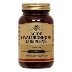 SOLGAR COLLAGENE ACIDE HYALURONIQUE COMPLEXE 30 COMPRIMES