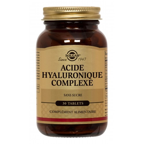 COLLAGENE ACIDE HYALURONIQUE 120mg 30tab