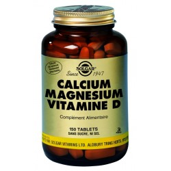 Calcium Magnésium Vitamine D 150 tablets