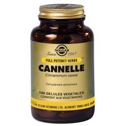 Cannelle 100 Gélules Végétales