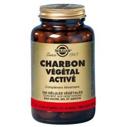 Charbon Végétal Activé 100 Gélules végét