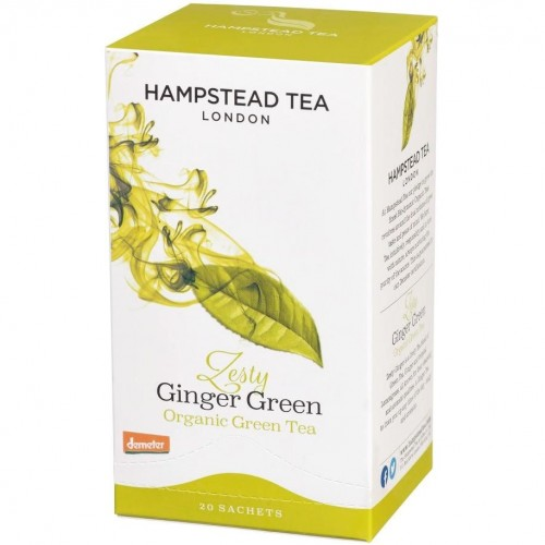 GINGER GREEN TEA 20 sachets