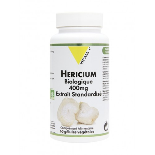 HERICIUM 400mg extrait standardisé 60gél