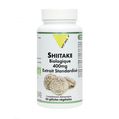 SHITAKE 400mg extrait standardisé 60gél.