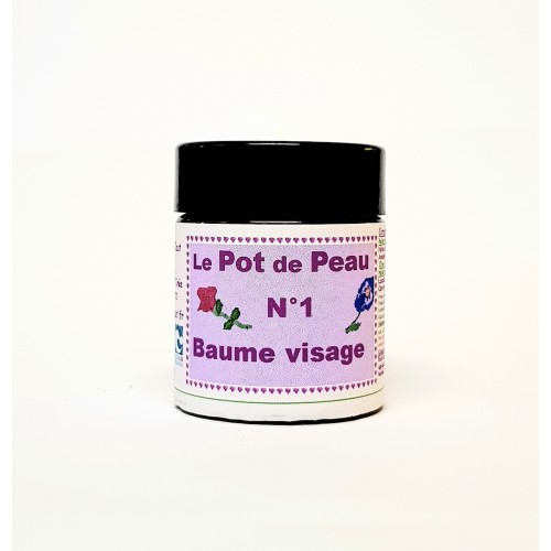 Pot de peau n° 1 baume visage 30 ml
