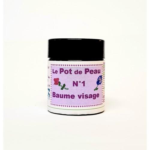 Pot de peau n° 1 baume visage 30 ml