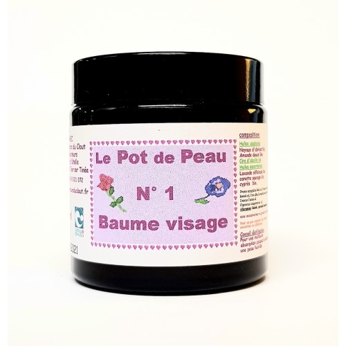 Pot de peau n° 1 baume visage 120 ml