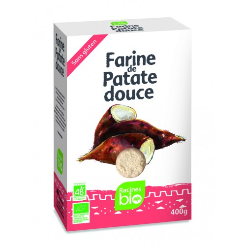 FARINE PATATE DOUCE 400g