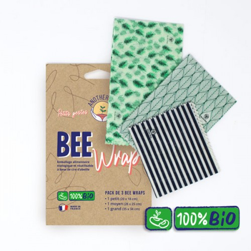 BEE WRAP 3 TAILLES (s-m-l)