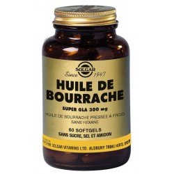 Bourrache Super GLA 300 mg Softgels GM