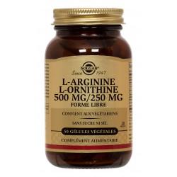 L-Arginine-L-Ornithine 500/250 Gélules v