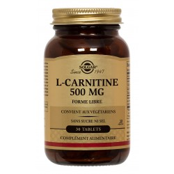 L-Carnitine 500 mg 30 Tablets