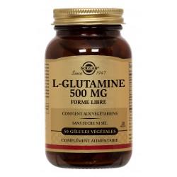 L-Glutamine 500 mg 50 Gélules Végétales