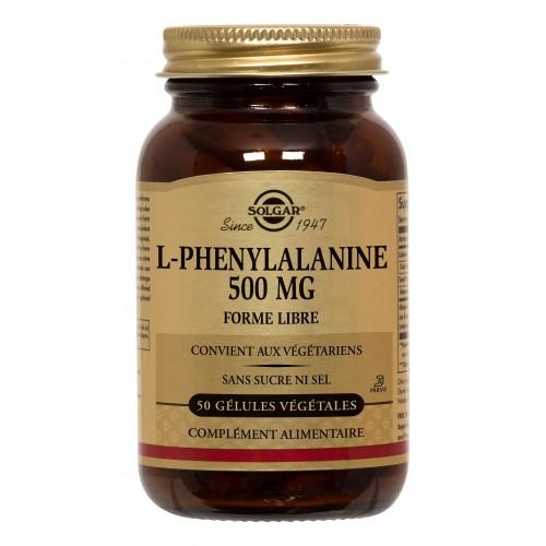 L-PHENYLALANINE 500 mg 50 gélules