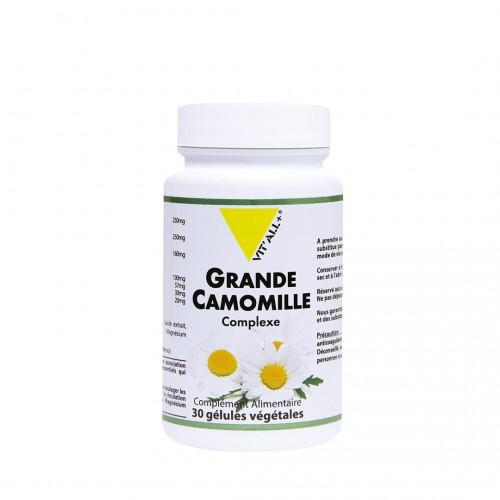 VIT'ALL+ GRANDE CAMOMILLE COMPLEXE 30 GELULES VEGETALES