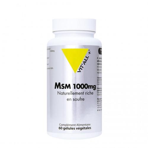 MSM 1000mg 60 gélules