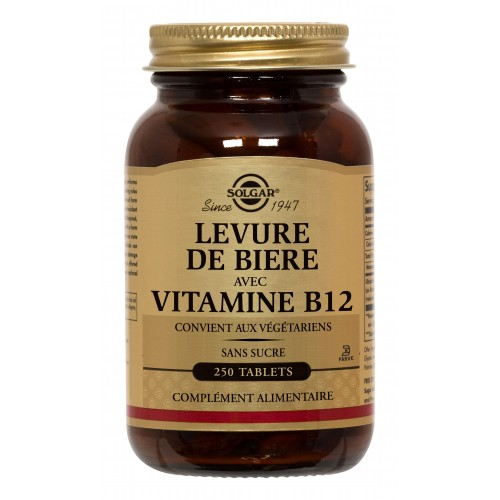 LEVURE de BIERE + B12 250 tablets