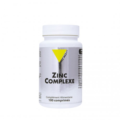 ZINC COMPLEXE 20mg100 comprimés sécables