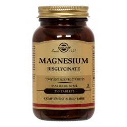 Magnésium Bisglycinate 250 Tablets