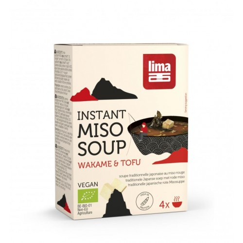 INSTANT MISO SOUP TOFU WAKAME 4x10g