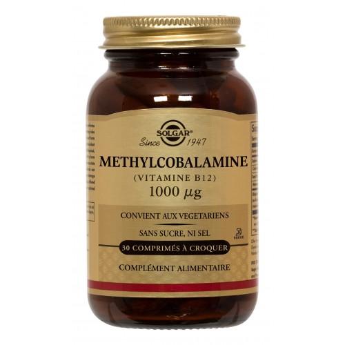 METHYLCOBALAMINE B12 1000µg à croquer