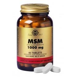 SOLGAR MSM 1000 MG 60 COMPRIMES