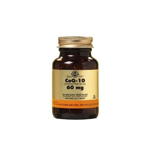 SOLGAR CoQ-10 60 MG 30 GELULES VEGETALES