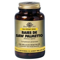 Baies Saw Palmetto 100 Gélules Végétales