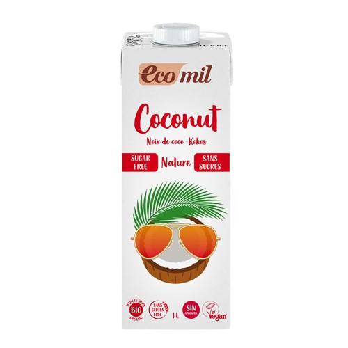 Lait de coco ss sucre bio 1 L (ss gluten