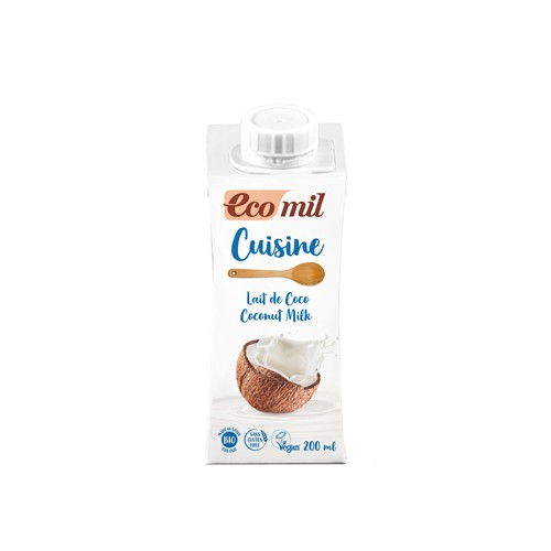 Crème cuisine lait de coco 20 cl bio